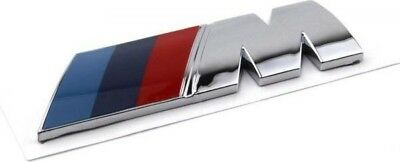 M power Motor sport Metal Logo Car Sticker Rear Trunk Emblem Grill Badge for BMW