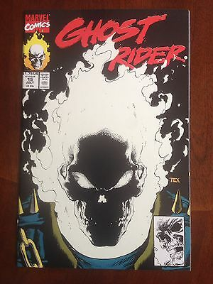Ghost Rider #15 Glow In The Dark Cover (1990) Marvel Comics