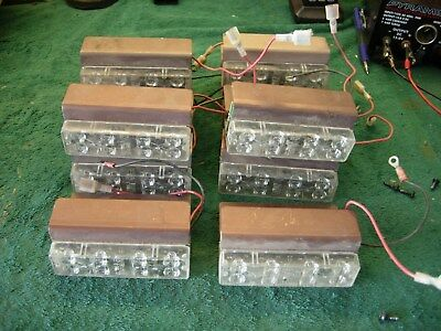 Code-3  Lightbar modules   ( 4 )  Four  for  one price
