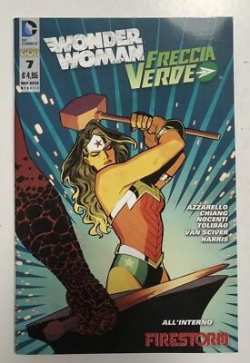 Dc Comics Wonder Woman/Freccia Verde n.7 Edit.Rw Lion  2012 Edicola