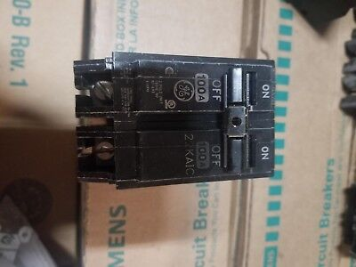 GE General Electric THQL21100 Circuit Breaker 2-Pole 100A 240V