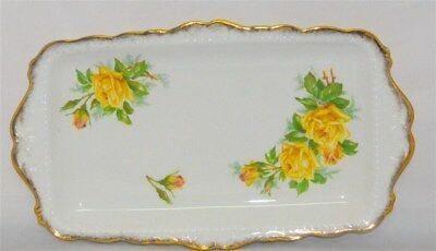 Royal Albert Yellow Tea Rose Sandwich/Meat Tray ( 2 Available )