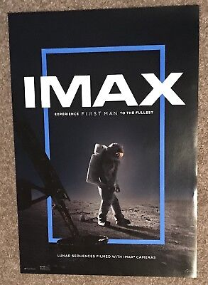 """2018 Exclusive The First Man Imax Ryan Gosling Poster 13""""x19"""""""
