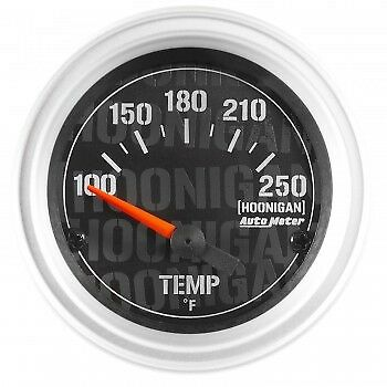 AutoMeter 4337-09000 Hoonigan Gauge Water Temperature