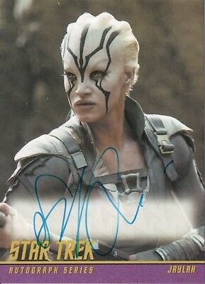 Star Trek Beyond Movie 2017, Sofia Boutella  'Jaylah' Autograph Card