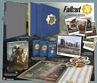 Fallout 76 Official Platinum Edition Guide - NEW - PRE ORDER 9780744019834