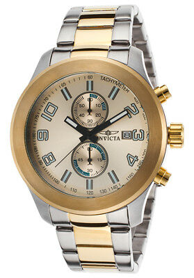 Invicta Specialty Chronograph Gold Dial Men's Watch 21491