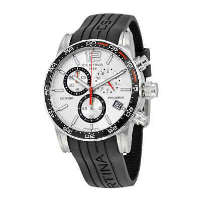 Certina DS Sport Chronograph Silver Dial Men's Watch C027.417.17.037.00