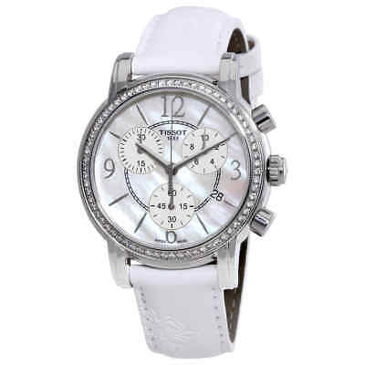 Tissot Dressport Mother of Pearl Dial Ladies Watch T0502176711700