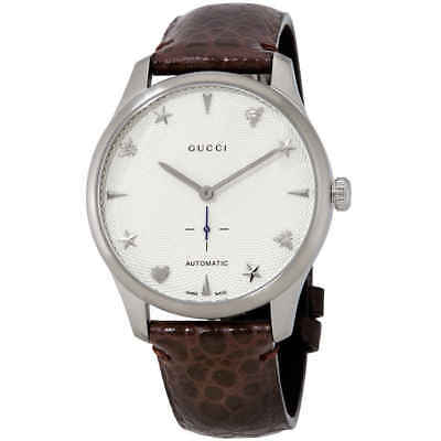 a42f252a7fa GUCCI G-TIMELESS AUTOMATIC Silver Dial Men s Watch YA126334 - EUR ...