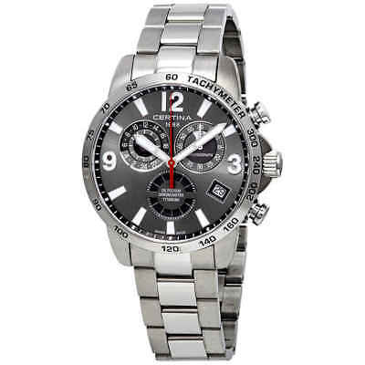 Certina DS Podium Titanium Chronograph Grey Dial Men's Watch C034.654.44.087.00