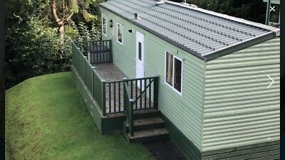 static caravan for sale sited north wales