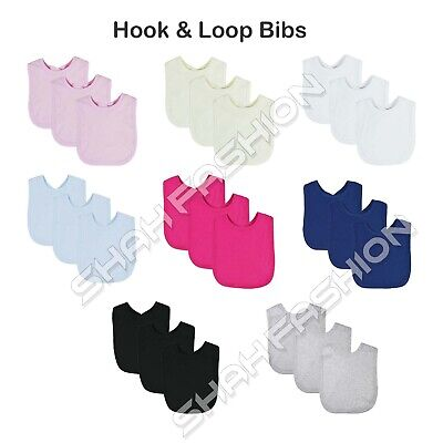 3 Pack Baby Bibs For 0-36 Months Newborns Girls Boys Teething Feeding Bib G5H8