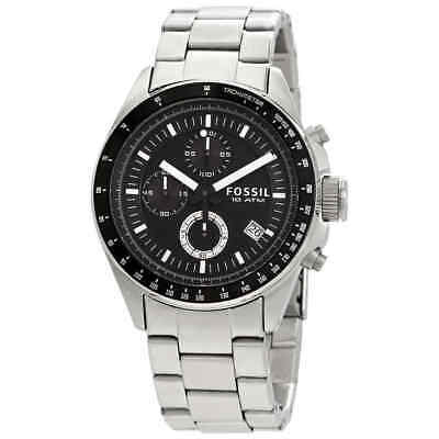 Fossil Decker Chronograph Black Dial Men's Watch CH2600IE