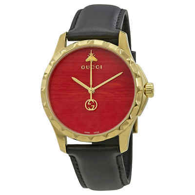 455afaec6c5 GUCCI G-TIMELESS CORAL Red Dial Men s Watch YA126464 -  675.00 ...