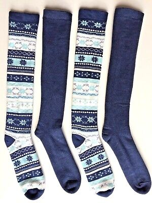 *4 PAIRS WOMEN LADIES WOOL HIGH QUALITY CHUNKY THERMAL BOOT SOCKS  Size 4-7 KRMZ