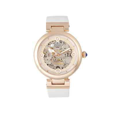 Empress Adelaide Automatic Crystal White Dial Ladies Watch EMPEM2507