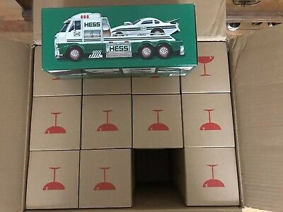One Brand New 2016 HESS Toy Truck and Dragster NEW In Box