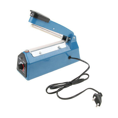 Heat Sealer Plastic Bag Sealing Machine Commercial Type Europlug, 4'' 220V