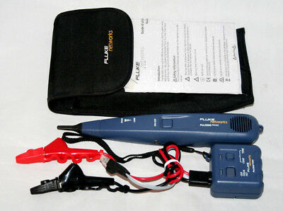 Fluke Networks Pro3000 Probe and Tone Generator with ABN Clips & Plug, New!