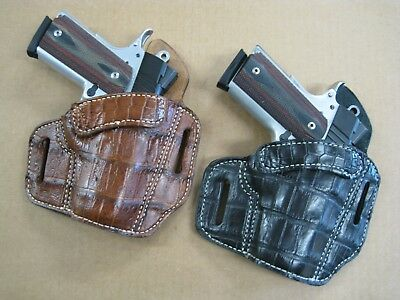 AZULA HOLSTERS OWB 2 Slot Pancake Belt Dual Mag Clip Pouch