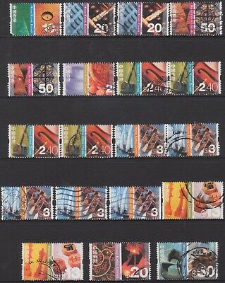 Hong Kong 2002 Cultural Diversity  Of (19) Stamps Used