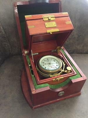 Russian Soviet USSR Marine Chronometer POLJOT Kirov MChZ two box