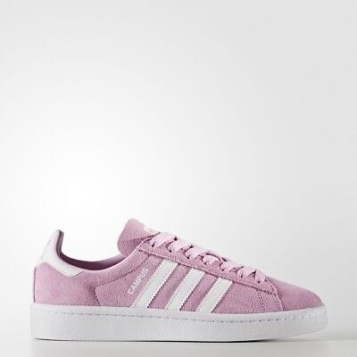 e2d07a6d6b15 ADIDAS CAMPUS FILLE Junior Baskets Taille 3.5 4 5 5.5 Rose - EUR 55 ...