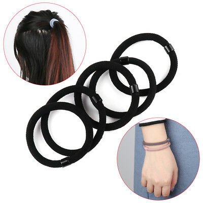 Women's Rubber Bands Tie Gum For Hair Ponytail Holder Hair Bands Headbands.