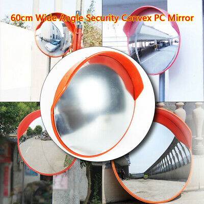 45cm/60cm Wide Angle Security Convex Mirror Outdoor Road Traffic Driveway Safety