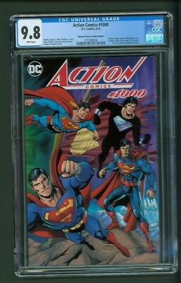 Action Comics #1000 CGC 9.8 Dynamic Forces Dan Jurgens Edition Variant Cover DF