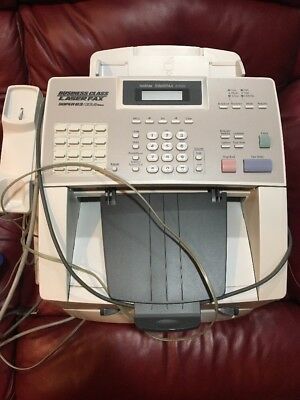 Brother intelliFAX-4100e Business-Class Laser Fax Machine, Copy/Fax/Print Used