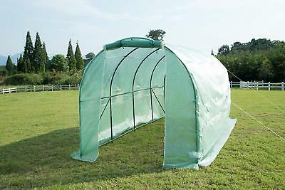 Greenhouse 15'x7'x7' Walk-in Green Garden Hot House Outdoor Portable Arch Shed