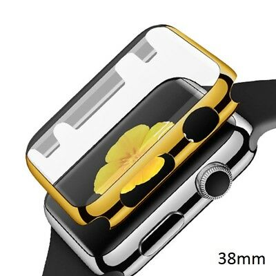 Ultra-thin Golden Plated Plating Protective Case For Apple iWatch Series 1 42mm
