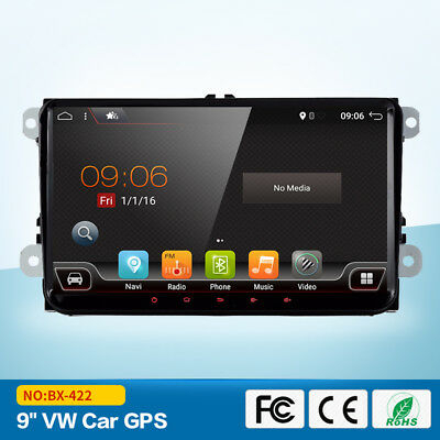 Für VW GOLF 5 PASSAT TOURAN Android 7.1 VW AUTORADIO 2 DIN NAVI GPS BLUETOOTH