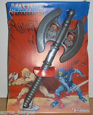 Vintage 1984 He-Man MOTU Masters of the Universe BATTLE AXE JOSMAN SPAIN 14''