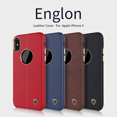 NILLKIN Englon Leather Cover Anti-collision Back Anti-skid Case For iPhone lotKF