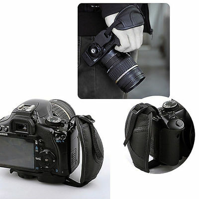 Leather Camera Wrist Strap Hand Grip for DSLR Canon Sony Pentax Nikon