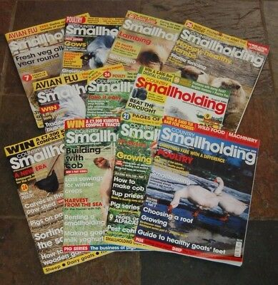Country Smallholding Magazine - 11 x Issues 2006