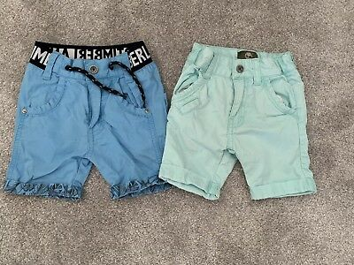 Timberland Boys 9 Months Shorts 2 Pairs