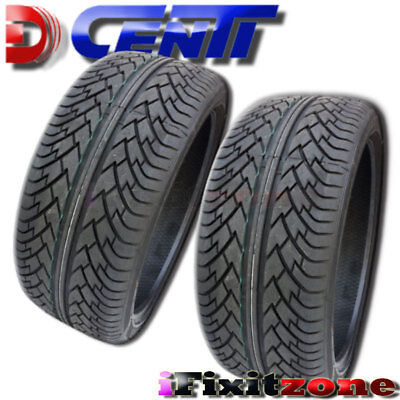 1 X New Dcenti D9000 295 35r24 110v Performance Tires 161 98