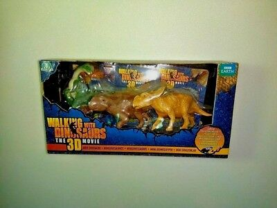 Toys & Hobbies Walking With Dinosaurs 3d Movie Figures Bbc Earth 3 Pack Patchi Juniper Scowler Action Figures