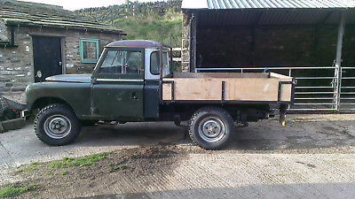 Land Rover Series 2a 109 inch Pick Up Bed