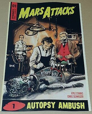 Mars Attacks Autospy Ambush #01