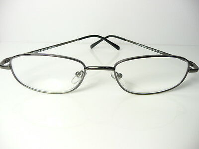 New Mens  Womens Unisex FOSTER GRANT Metal  'Tolstoy' Reading Glasses