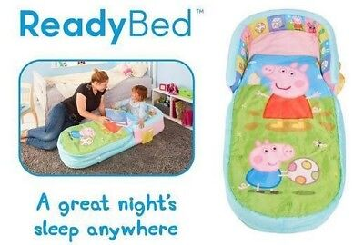 Peppa Pig And George My First Ready Bed Air Mattress Portable Kids