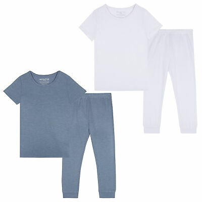 Infant Boys Girls Thermal Set T-shirt Top Leggings Long John Warm Base Layer