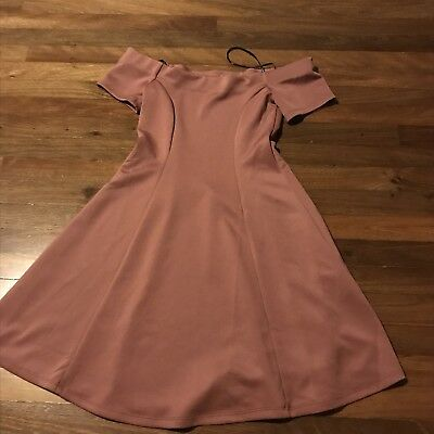 Juniors Girls Dress From Forever 21 Size Small Rose Color 4 99