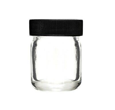 Clear Glass Jars With Child Resistant Screw Top Lid - 30ml, 60ml