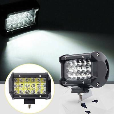 5inch 168W Car Work 18 LED Light Bar SUV Boat Driving Offroad ATV Spot Beam Lamp
